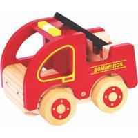 Carrinho Newart Toys Bombeiro Multicolorido