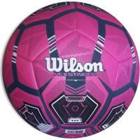 971187b17 Netshoes  Bola De Futebol Campo Wilson Hex Stinger 5 - Unissex