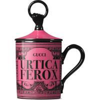 """Gucci Caneca """"Urtica Ferox"""" - Rosa"""