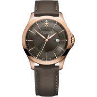 Relógio Victorinox Swiss Army Unissex Couro Marrom - 241908