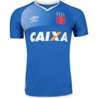 Camisa De Goleiro Do Vasco Da Gama 2017 Umbro - Masculina - Azul Branco 007839e451437