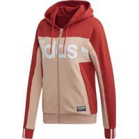 Jaqueta Adidas Tt Hooded Bege