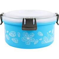 Marmita Com Trava G- Inox & Azul- 9,5Xã˜17Cm- Jacjacki Design