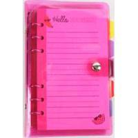 Caderneta Anotações Neon Marisa