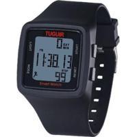 Relógio Pedômetro Tuguir Digital Tg1606 Masculino - Masculino-Preto
