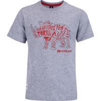 Camiseta Ecko Rhino - Infantil - Cinza