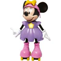 Boneca Minnie Patinadora Com Sons - Elka - Disney - Feminino-Incolor