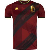 Camisa Bélgica I 2019 Adidas - Masculina - Vermelho