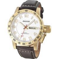 166c333b63c CEA  Relógio Magnum Analógico Fashion 3 Masculino - Masculino-Dourado+Marrom