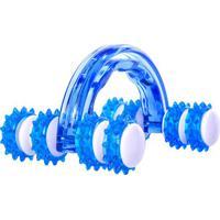Massageador Manual Roller - Azul & Branco - 7,6X10X1Acte