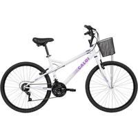 Bicicleta Aro 26 - Caloi Ventura - Branco - Caloi