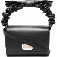 Red(V) D)Bell Bow Shoulder Bag - Preto