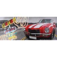Quadro Carro Vermelho Fullway 60X150