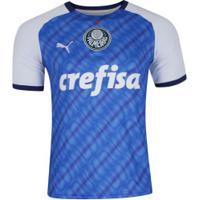 Camisa Do Palmeiras Edição Especial Libertadores 1999 Puma - Masculina - Azul