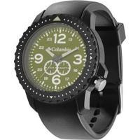 Relógio De Pulso Columbia Urbaneer - Masculino-Preto+Verde