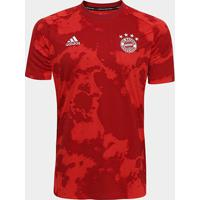 Camisa Bayern De Munique Pré-Jogo Adidas Masculina - Masculino