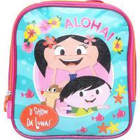 Lancheira Escolar Infantil Pacific O Show Da Luna Aloha - Feminino-Azul