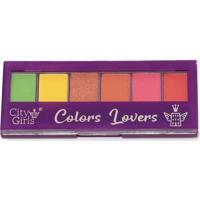 Paleta De Sombras Colors Lovers City Girls A A