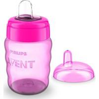 Copo De Treinamento - 260 Ml - Easy - Philips Avent - Feminino-Rosa