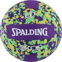 Bola De Vôlei Spalding Eva Foam Series Volley 5 72354Z - Roxo/Verde