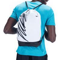 Gym Sack Nike Brasilia - 23 Litros - Branco/Preto