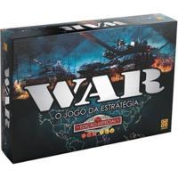 Jogo War Tabuleiro O Jogo Da Estratégia - War Edição Especial - Unissex