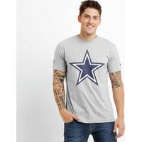 Camiseta New Era Permanente Dallas Cowboys - Masculino