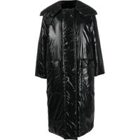 Givenchy Casaco Matelassê Oversized - Preto