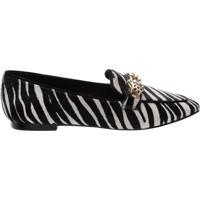 Mocassim Glam Zebra Print | Schutz