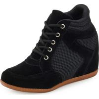 Tênis Sneaker Ana Lucia Al Preto