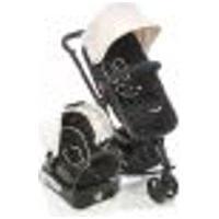 Carrinho De Bebê Travel System Mobi Safety 1St Plain Beige