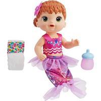 Boneca Baby Alive - Linda Sereia - Ruiva - E4410 - Hasbro