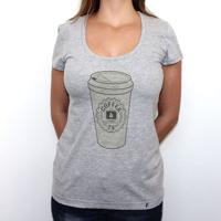 Coffee & Tv - Camiseta Clássica Feminina