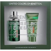 Kit 1 Perfume Masculino Benetton Colors 100Ml 1 Pós Barba 75Ml - Masculino