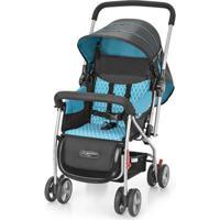 Carrinho + Bebê Conforto Flip Travel System Azul Bb619