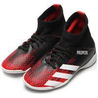 Chuteira Adidas Performance Menino Predator 20 3 In Jr Preta/Vermelha