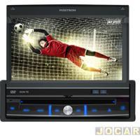 """Dvd Player - Pósitron - Com Tela 7"""", Tv Digital, Usb E Entrada Para Câmera De Ré - Cada (Unidade) - Sp6700Dtv"""