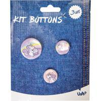 Kit Bottons - Unicornio