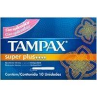Absorvente Interno Tampax Normal Super Plus 10 Unidades