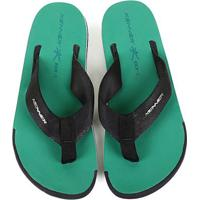 Chinelo Kenner Kick.S Line Original Masculino - Masculino-Preto+Verde