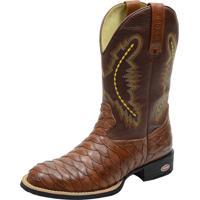 Bota Dr Shoes Texana Marrom