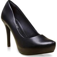Sapato Fem Ramarim 16-40101 Preto