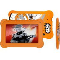 Tablet Star Wars 8Gb 7 Pol Android 4.4 Laranja Nb238 Multilaser