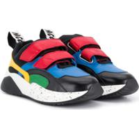 Stella Mccartney Kids Tênis Color Block - Preto