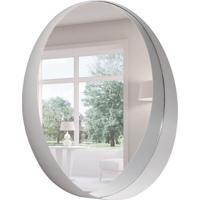 Espelho Decorativo 50X50 Cm Epcot Off White
