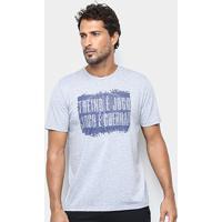 Camiseta Gonew Jogo É Jogo Masculina - Masculino