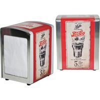 Porta Guardanapos Em Metal Estampa Papiro Pepsi Cola 17811