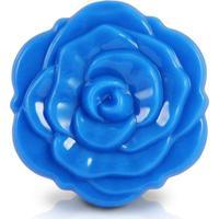 Espelho De Bolsa Flor Jacki Design Espelhos Azul