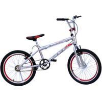 Bicicleta Aro 20 Wendy Cross Cromada Com Aero E Selim - Unissex