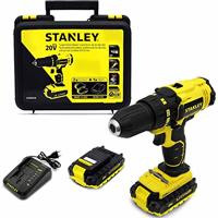 Furadeira Parafusadeira 2 Baterias 110V Stanley Scd20C2K